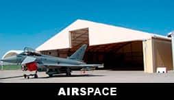 AIRSPACE - HANGARES PARA AVIONES