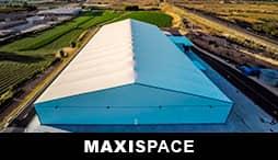 MAXISPACE - La nave desmontable más sólida y versátil del mercado