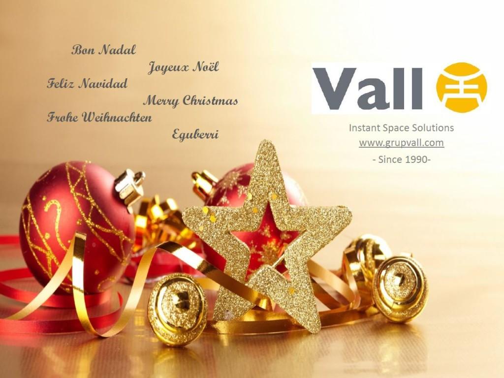 Vall les desea Feliz Navidad y Feliz Año 2016