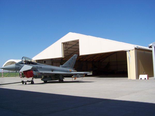 Hangar de aviacion