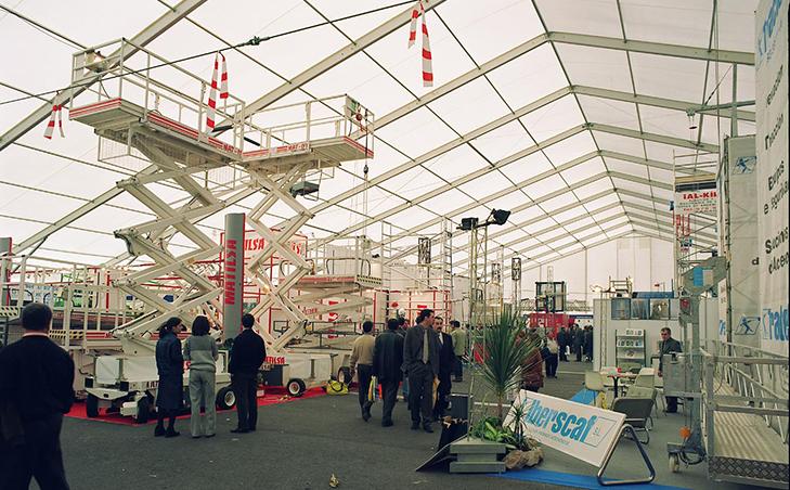 carpa Interior Feria