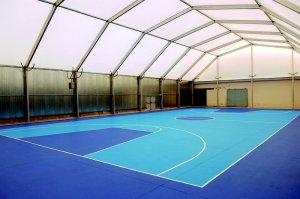 Pabellones deportivos acero-aluminio
