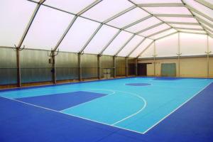 Steel sports halls