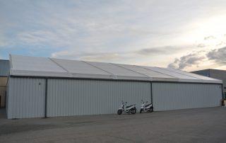 En las instalaciones de mantenimiento y logística que la empresa Cooltra dispone en Montornès del Valles