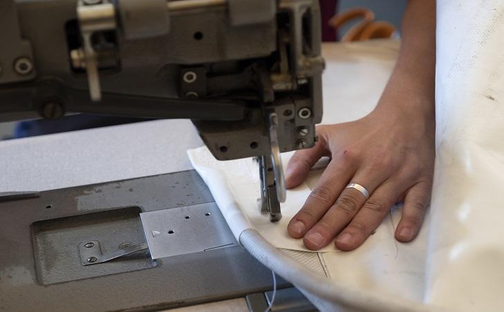 Máquina de coser lonas