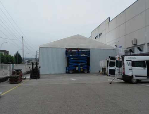 GRUPO ANTOLÍN Demountable warehouse