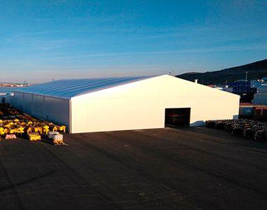 AluSpace Naves industriales desmontables en aluminio