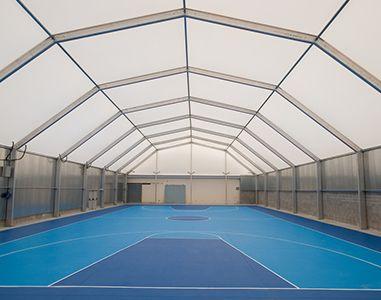 SportSpace Pabellones deportivos en aluminio, acero o madera