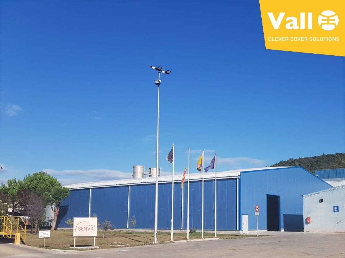 Nave Industrial Desmontable VALL BENVIC
