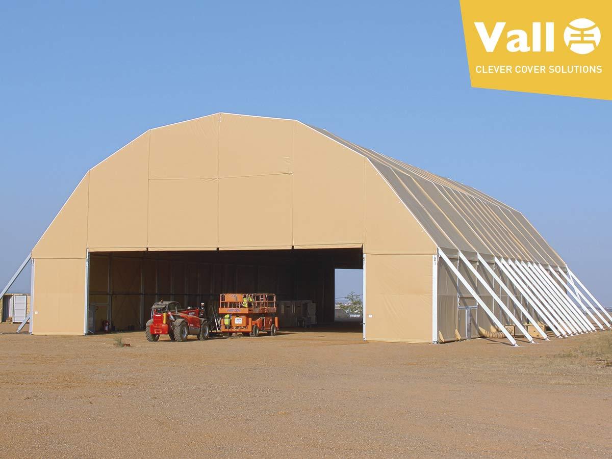 Hangares desmontables para aviones: solucion en tiempos de crisis