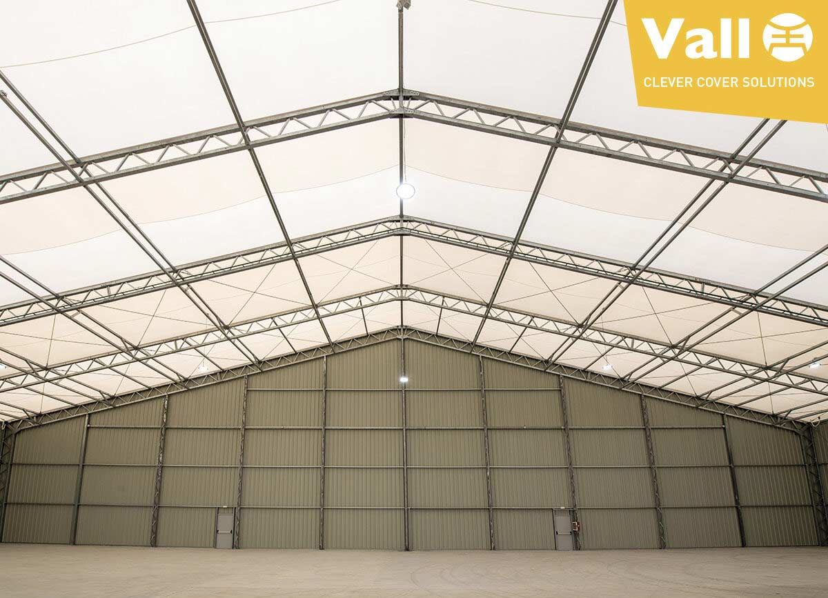 VALL nave industrial desmontable - comprar o alquilar