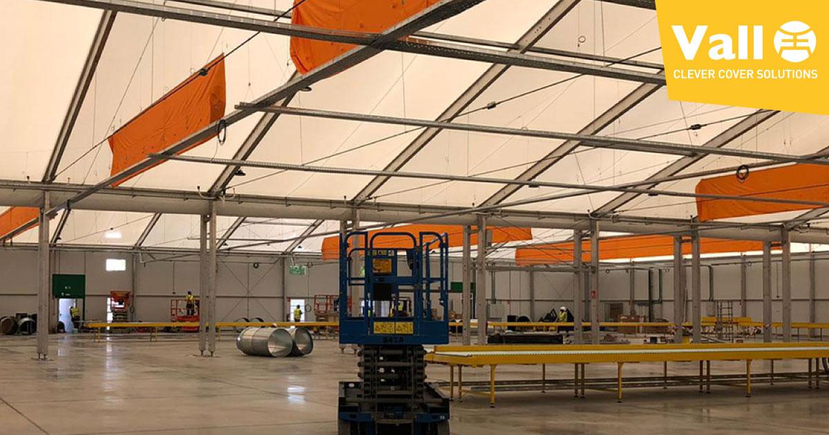 VALL- Sector logístico demanda naves industriales prefabricadas
